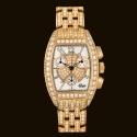 Tzar Gold Quartz Diamond Bracelet