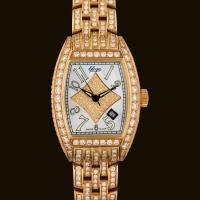 Tzarina Gold Dial3 Diamond Bracelet