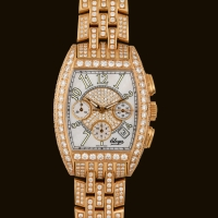 Tzar Gold Automatic Diamond Bracelet
