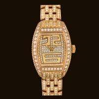 Tzarina Gold Dial1 Diamond Bracelet